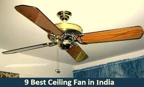 9 best ceiling fans in india 2019