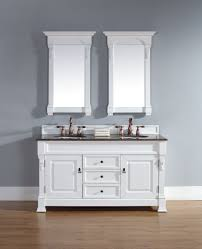 white bathroom vanities with drawers. 60 Inch White Finish Double Traditional Bathroom Vanity Optional Tops Vanities With Drawers