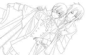 kurosuji coloring pages within black butler coloring pages disney black butler coloring pages
