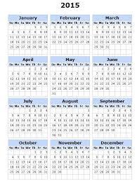 Free Printable Calendar 2015 By Month 2015 Calendar Year Printable Skachaj Info