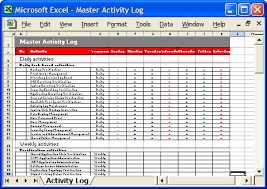 Daily Schedule Template Free Extraordinary Daily Report Format In Excel Sample Bino48terrainsco