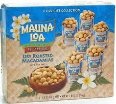 image is loading dry roasted mauna loa macadamia nuts gift set