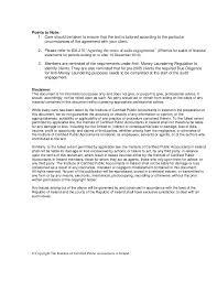 Audit Engagement Letter Sample Template Best Sample Audit Engagement Letter Final28 Jan 28011