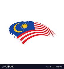 Malaysia Flag Design Vector Malaysia Flag