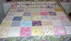 Ashlawnfarms Country Chenille Rag Quilt Pattern Instructions & Ashlawnfarms Country Chenille Rag Quilt Pattern Instructions PDF Adamdwight.com