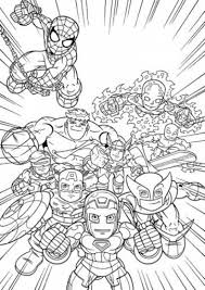 He is one of the most powerful sorcerers today. Marvel Superheroes Avengers Coloring Page For Kids Printable