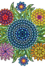 this mandala coloring book for grown ups is the creative s way to mindful relaxation