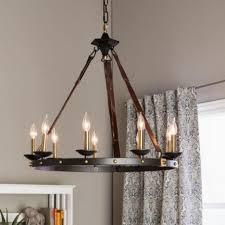 Kitchen Light Chandelier Rustic Wood And Iron Black Farmhouse Pendant Lighting 936936