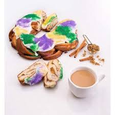 King cakes make their annual debut on twelfth night, or january 6th, and are baked up fresh all the way until fat tuesday. Community Coffee Mardi Gras King Cake Flavored Single Serve Pods Compatible With Keurig 2 0 K Cup Brewers 54 Count