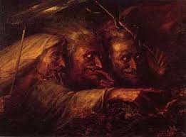 macbeth the three witches 1827