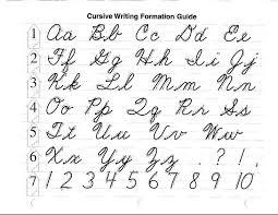 Abeka Cursive Letters Learning Cursive Cursive Alphabet