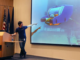 Developer of Small Underwater Robot Wants to Spur Innovation | NASA