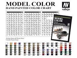 13 Faithful Vallejo Model Air Color Chart Pdf