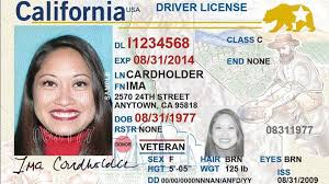 sample id cards californians can start applying for federally mandated real id
