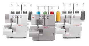 Singer Sewing Machine Overlock Stitch