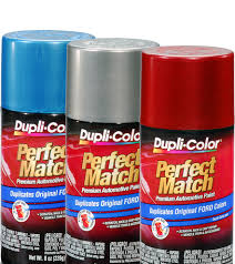 match paint colorPerfect Match Premium Automotive Paint  Aerosol  DupliColor