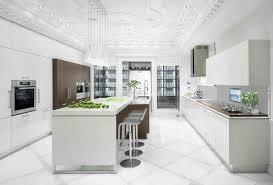 White Kitchens With White Floors Interior Design Kitchen White Minimalist White Kitchen Cabinet