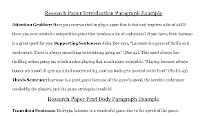 022 Research Paper Good Introduction Sentences For