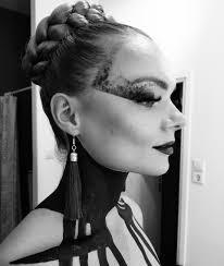 bodypaint artistiek make up haarstyling styling tour maline visagie hair rotterdam