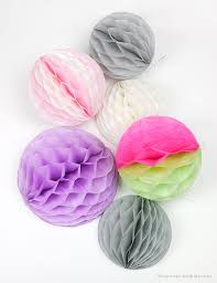How To Make Tissue Paper Balls Decorations Adorable How To Make Honeycomb PomPoms Mr Printables