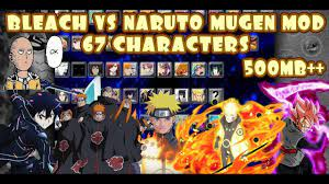 Bleach VS Naruto MUGEN MOD 67 Characters ANDROID {500MB DOWNLOAD}   Naruto  mugen, Naruto games, Naruto shippuden the movie