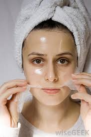 dry and peel face mask