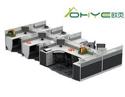 office workstation desks. Plain Office Liansheng Office Desks 4 Seat Office Workstation Cubicle On Workstation