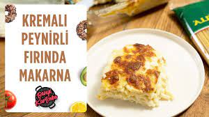 Kremalı Peynirli Fırında Makarna Tarifi