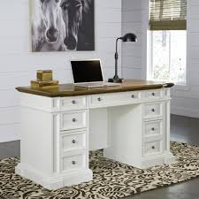 white home office desks. Home Styles Americana White Desk With Storage Office Desks K
