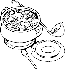 fruit salad clipart black and white.  And Salad With Fruit Clipart Black And White 2