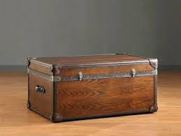vintage storage trunk coffee table chest box trunks and chests