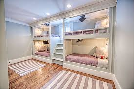 built in bunk beds. Fine Bunk This Custom Designed Set Of Four Bunk Beds Contains Video Monitors And  Individually Controlled Lighting On Built In Bunk Beds