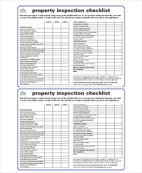 House Inspection Checklist 17 Pdf Word Download