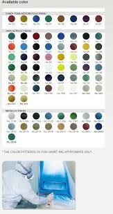 Bosny Spray Paint Color Chart Spray Paints Bhairav Abrasive Tools Centre