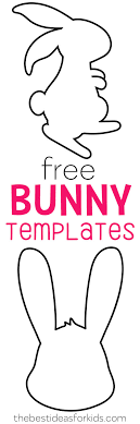 Easter Templates Easter Bunny Template The Best Ideas For Kids