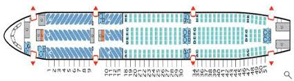 Airbus A330 200 Seating Chart Air Transat A330 Seating Chart