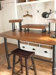 industrial style office desk. Industrial Style Desk ~ Reveal 1/3 | Vin\u0027yet Etc. Office .
