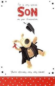 Boofle Very Clever Son Graduation Congratulations Card Greeting