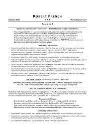 Cio Resume Examples Resume Sample Resume Examples It Resume Example ...