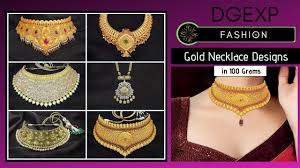 Gold Necklace Designs In 80 Grams With Price Gold Necklace Designs In 100 Grams With Price Weight