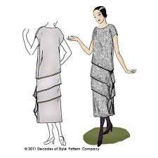 1920s Dress Patterns Extraordinary 48s Sewing Patterns Decades Of Style Pattern Company