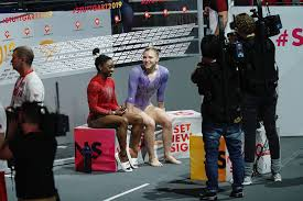 Also discover famous gymnast jade carey's birthday, measurements, physical stats, favorite things, dating, partner. Jade Carey Simone Biles Reminds Other Gymnasts To Have Fun People Com