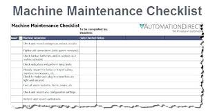 Download Preventive Maintenance Schedule Templates For Free Truck