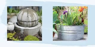 Solar Light Up Water Feature 22 Outdoor Fountain Ideas How To Make A Garden Fountain