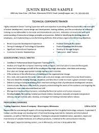 Technical Trainer Resume Personal Trainer Cover Letter Technical Trainer Resume Trainer