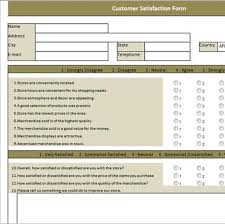 Customer Satisfaction Survey Template Excel Online Forms Archives Page 2 Of 2 Spreadsheetweb