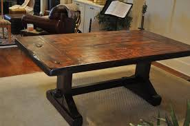 french country rustic scroll farmhouse dining table best tables attractive rustic farmhouse dining tables