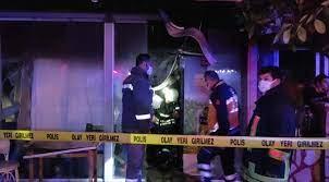 Tekstil mağazasında anne-oğlu yemek yaparken düdüklü tencere patladı,  yangın çık