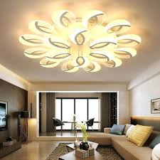 M Chandelier Lighting For Bedroom Modern Led Ceiling  Dining Room Indoor Lamp Living Black