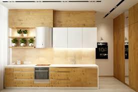 Kitchen Cabinet Wood Contemporary Kitchen Best Contemporary White And Wood Kitchen